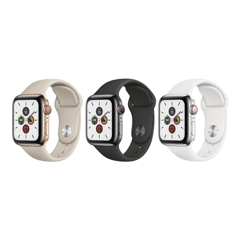 Apple Watch Series 5 Stainless Steel (Sport Band)
