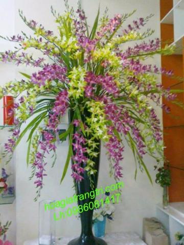 Mua hoa giả trang trí cao cấp