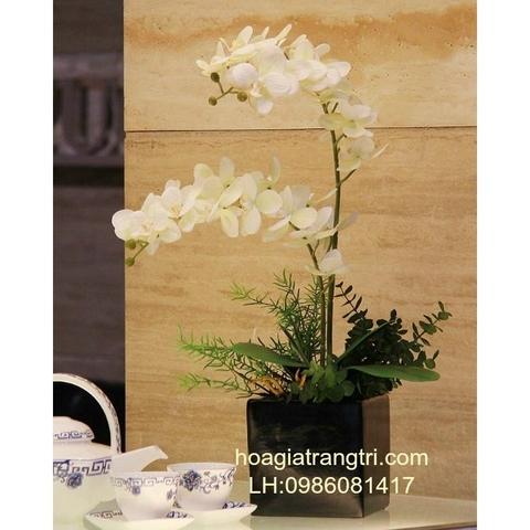 Hoa lan giả trang trí đẹp tại Phương Thảo