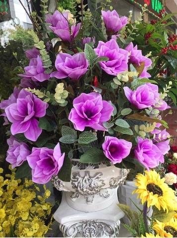 Hoa lụa Phương Thảo bán hoa giả  trang trí với giá sỉ