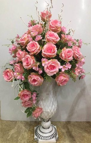 Hoa lụa trang trí