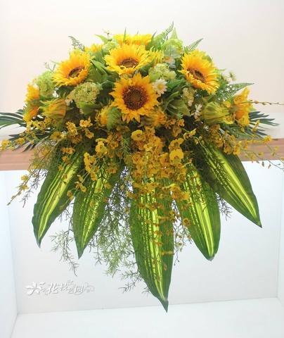 Hoa để bục mẫu - Hoa lụa