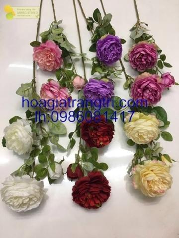 Hoa lụa trang trí đẹp