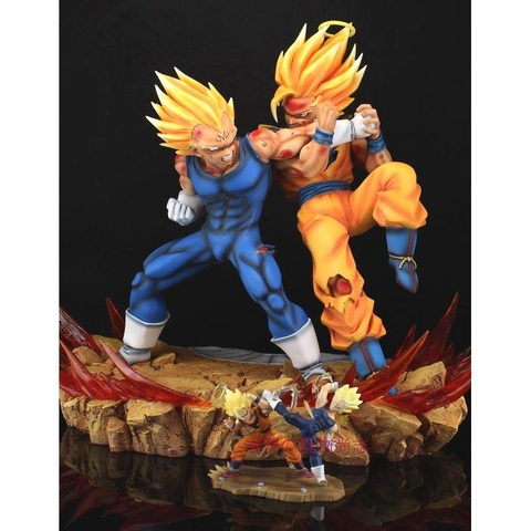 Goku ssj2 vs Vegeta Ver.1 (Rs)