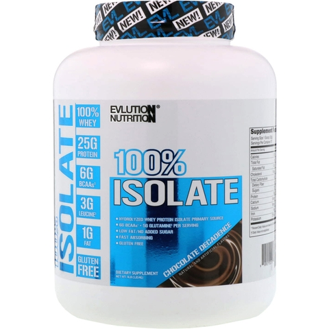EVL 100% ISOLATE WHEY 4lbs