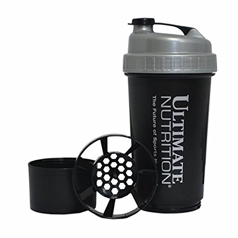 Ultimate Nutrition Shaker 2 ngăn 700ml