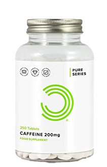 Bulk Powders Caffeine 200ml 100 viên.