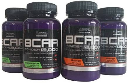 Sample Ultimate Nutrition Bcaa 12000 7.6 Gram mixed