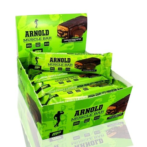 Musclepharm Arnold bar 12 Bar/box.