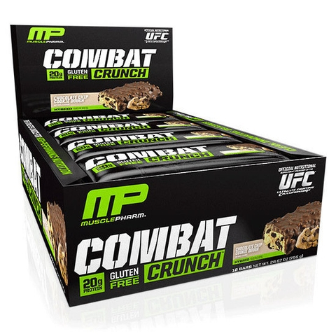 Musclepharm Combat crunch bar 12 Bar/box.
