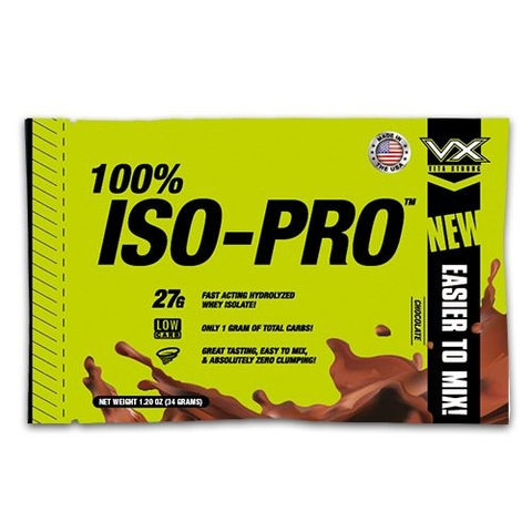COMBO 10 Sample ISO PRO VITAXTRONG loại 1 serving 34gram