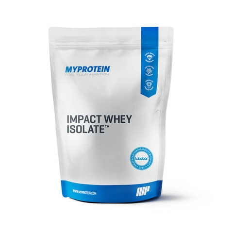 Myprotein Impact Whey Isolate 5.5lbs