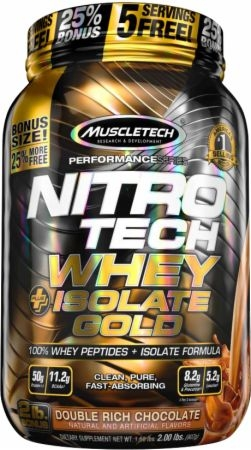 Nitrotech Whey Isolate Gold 2lbs