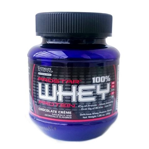 Gói Thử Sample Ultimate  Prostar Whey 30 Gram