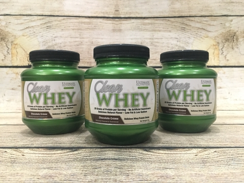 Sample Ultimate Clean Whey 31 Gram (mixed)