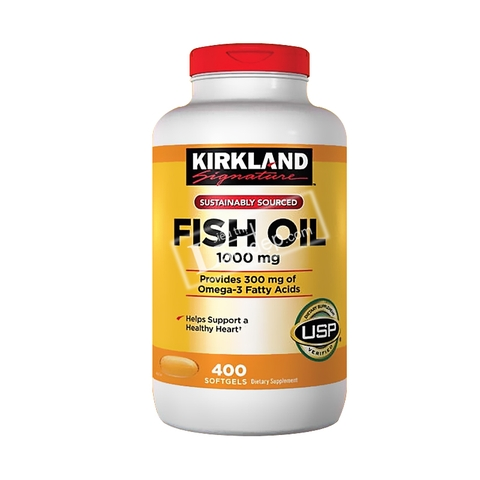 Kirkland Fish Oil 400 Viên.