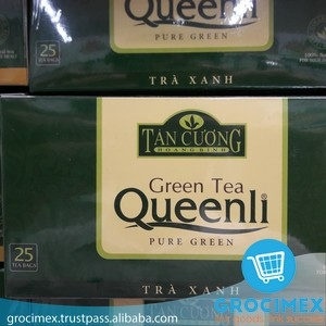 Green Tea Queenli Pure Green Tan Cuong Tea 25 bags