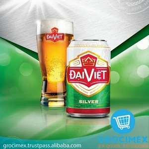 Dai Viet Silver Beer 4.35% tin can 330ml