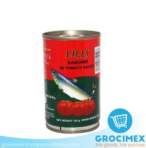 Canned Sardine in tomato sauce 155gr