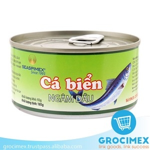 Canned Sardine in Vegetable Oil 185gr