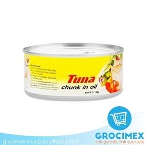 Canned Tuna in soybean oil 185gr