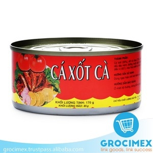 Canned Tuna in Tomato sauce 170gr