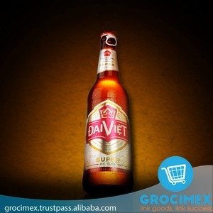 Dai Viet Beer From Vietnam / Super Beer Bottle 5% - 330ml