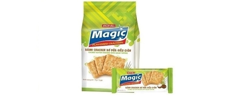 Magic Coconut butter Crackers 17g x 12