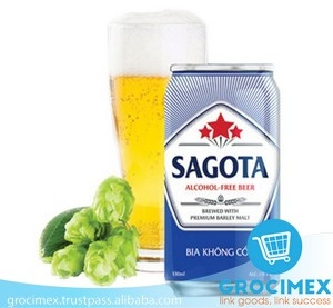 SAGOTA alcohol-free beer 330ml