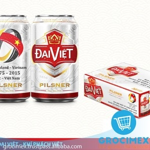 Dai Viet Beer From Vietnam / Pilsner Dai Viet can Beer 5% 330ml