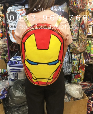 BALO IRON MAN MARVEL