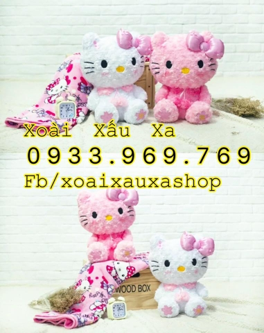 MỀN GỐI 2IN1 HELLO KITTY