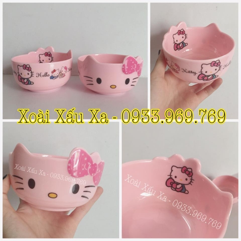 CHÉN NHỰA HELLO KITTY