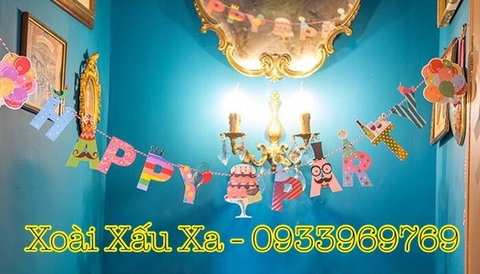 Dây chữ Happy Party