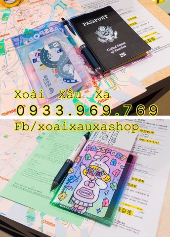 BAO PASSPORT, COVER PASSPORT NHỰA