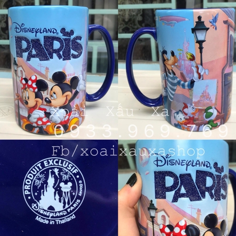 LY SỨ MICKEY- MINNIE MOUSE PARIS DISNEY