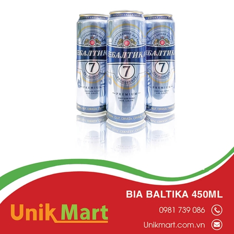 Bia baltika 450ml