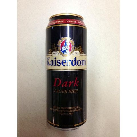 Bia lon Kaiserdom Dark 500ml