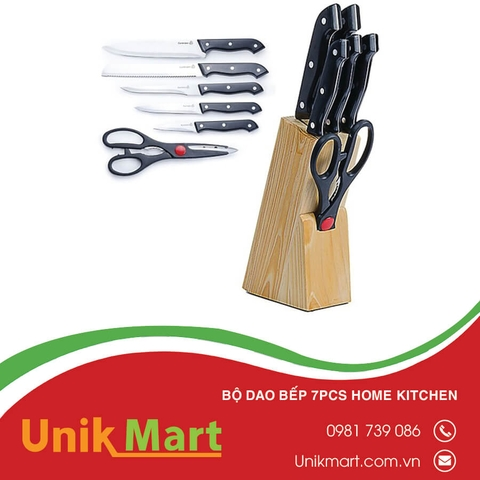 Bộ Dao Bếp 7pcs Home Kitchen