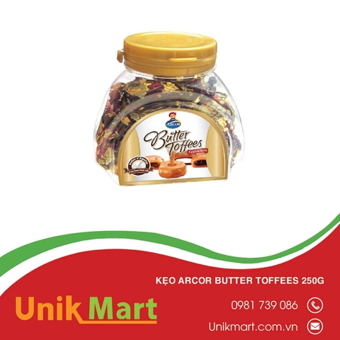 Kẹo Arcor Butter Toffees 250g
