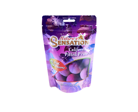 "MẬN KHÔ ""NATURE'S SENSATION"" CALIFORNIA PITTED PRUNES (200gr)"