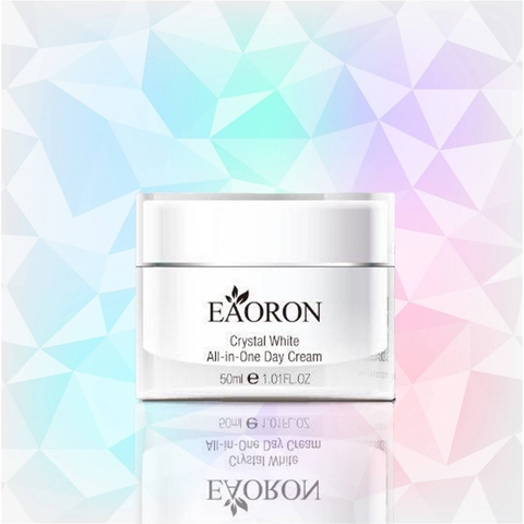 Kem dưỡng tinh thể trắng da Eaoron Crystal White Brightening Cream All-in-One Day Cream 50ml