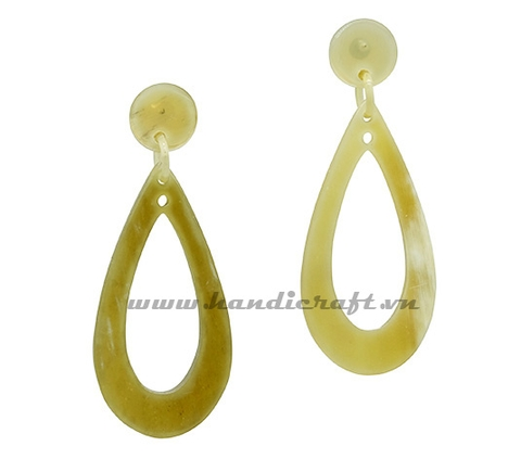 Horn earrings
