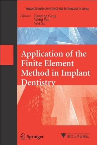 Book Application of The Finite Element Method in Implant Dentistry