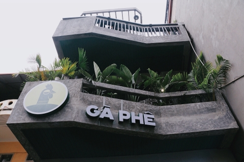 REVIEW Gà Phê Coffee