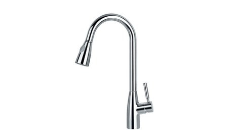 BF 882 810K SINGLE LEVER KITCHEN MIXER WITH PULL-DOWN SPRAYHEAD