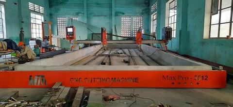 Lắp đặt dòng Máy cắt CNC Plasma hạng nặng tại Công ty DKT Việt Nam