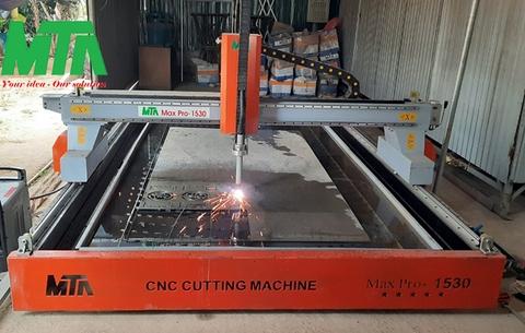 Công ty MTA lắp đặt máy cắt plasma CNC tại Nghê An cho khách hàng