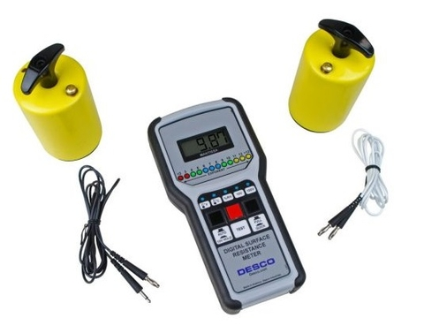 DESCO 19787 Digital Surface Resistance Meter Kit