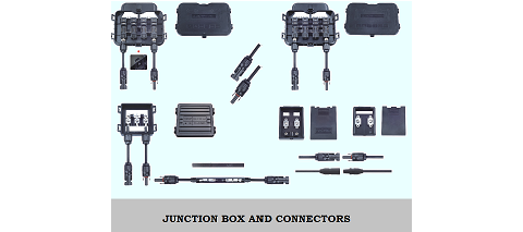 Junction box and connectors